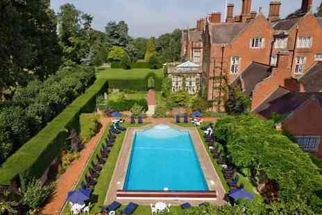 Tylney Hall Hotel - One Night Luxury Spa Pamper Break Getaway - Save 21%