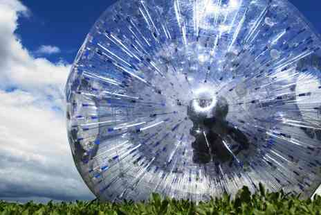 GO Zorbing - Hydro or Harness Rides with T Shirts for Two - Save 0%