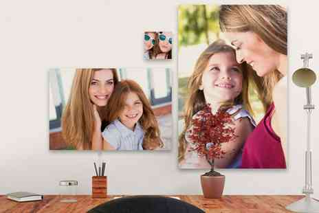 UK Photo Gifts - Personalised Canvas in Choice of Size - Save 0%