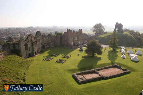 Tutbury Castle - Day entry to Wonderland Bank Holiday Weekend - Save 58%
