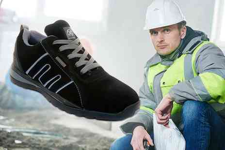 direct2publik - Pair of steel toe capped safety trainers protect your toes - Save 68%