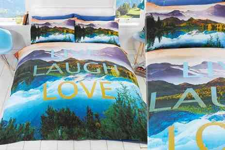 Linens R Us - Sing Live, Laugh, Love duvet cover set - Save 64%
