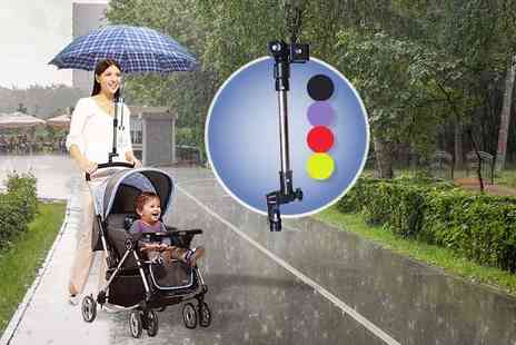The Wholesale Group - Adjustable pram umbrella holder - Save 77%