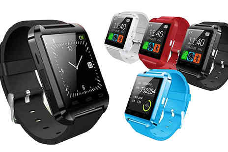 121 Mart - i Watch Bluetooth Smartwatch in 4 Colours - Save 81%