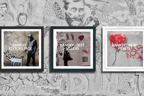Graff.io - Banksy Multipack with Choice of Size With Free Delivery - Save 0%