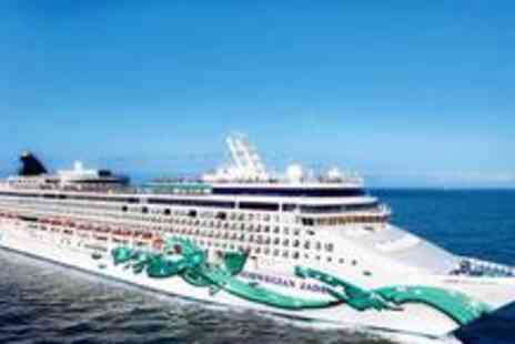 Cruise Nation - Seven night full board cruise outside stateroom including flights - Save 53%