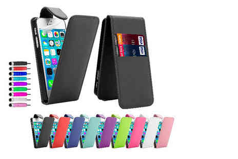 32nd Shop - iPhone leather flip wallet case - Save 43%