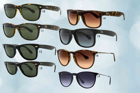 Fashion Eyewear - Pair of Ray Ban sunglasses choose from 17 styles - Save 36%