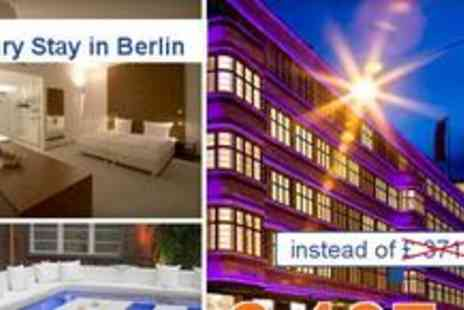 Wellington Hotel - Classy 3 day stay in the centre of Berlin for 2 people in Berlin - Save 47%