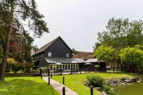 Great Hallingbury Manor - One or Two Nights Stay For Two With Breakfast, Dinner and Prosecco - Save 40%