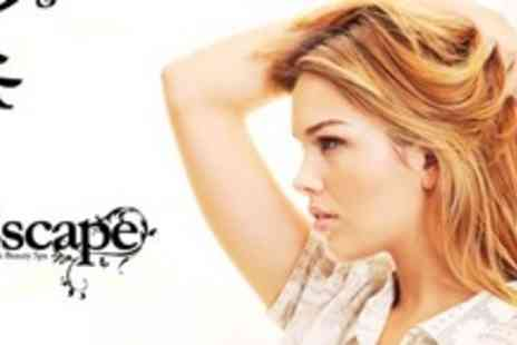 Escape @ Sanmarie Beauty Spa - Restyle With LOreal Conditioning Treatment Plus Optional T Section Highlights - Save 68%