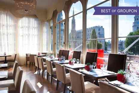 Amba London - Royal Afternoon Tea with Cocktails for Two or Four - Save 43%