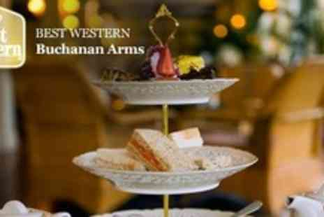 Buchanan Arms Hotel - Spa Day Including Afternoon Tea With Prosecco For Four - Save 66%