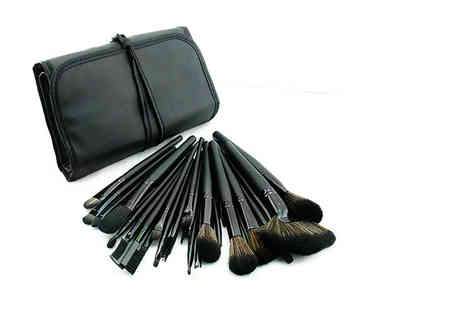 Heads Group - 32pc makeup brush set - Save 78%