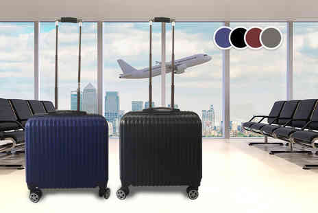 MC California USA - Cabin approved hard shell suitcase choose from four fantastic colours - Save 87%