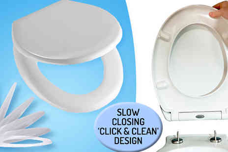 Showering Select - Soft-Close Easy Clean Toilet Seat - Save 0%