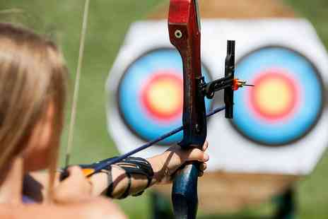 Dorset Adventure Sports - One Hour Archery Session for Up to Four - Save 30%