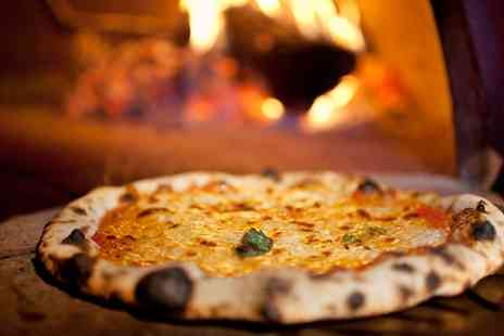 Hilton Bath - Stone Baked Margherita Pizza for One or Two - Save 58%