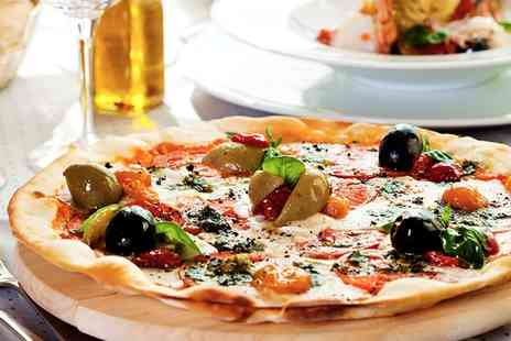 Lucca Bar & Kitchen - Pasta, Risotto or Pizza with Side for Two or Four - Save 45%
