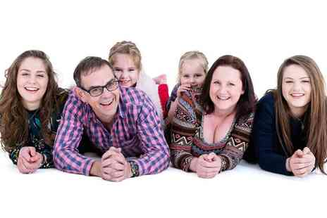 Ideal Imagery - Family Photoshoot with Five Prints and One Digital Image - Save 92%