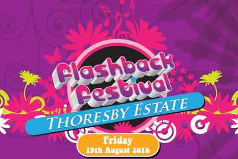 UK Events - Ticket to Flashback Festival including camping - Save 44%