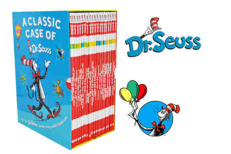 PCS Books - Dr. Seuss Classic Case 20 book collection - Save 74%