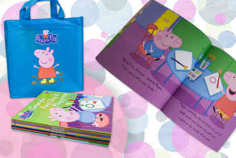 Price Cut Books - Peppa Pig 10 book collection - Save 62%
