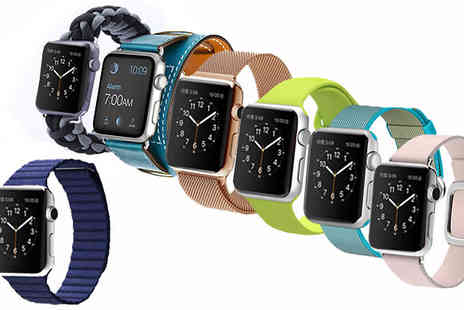 The Home & Gadget Store - Apple iWatch Compatible Straps 7 Models,13 Colours - Save 0%
