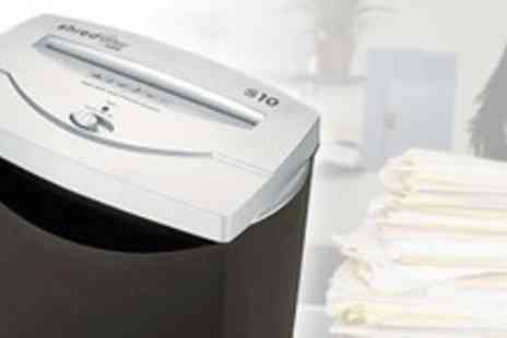 Bed Town - Two HSM Office Paper Shredders - Save 71%