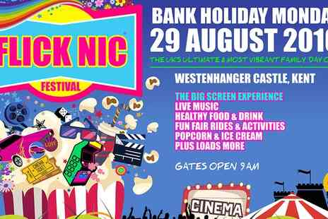 Lenny Adreou - Flic Nic Festival on 29 August at 10 a.m., Westenhanger Castle - Save 39%