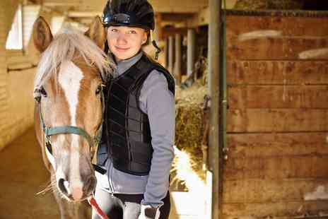 Barnes Green Riding School - Kids Horse Riding Five Sessions - Save 0%