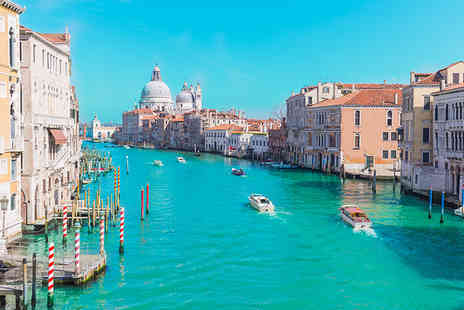 Weekender Breaks - Eight night Venice, Rome, Florence and Milan break including return flights and train transfers - Save 30%
