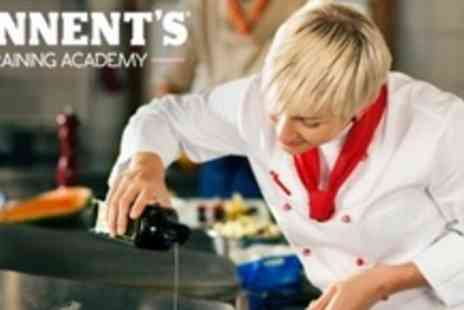 Tennents Training Academy - Cookery Masterclass With Two Course Meal and Drinks - Save 60%