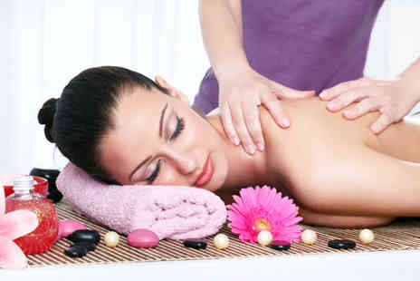 Room Nine - Clarins facial and back, neck and shoulder massage - Save 0%