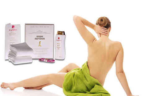 Body Reform - Eessential contour treatment pack including thermal wraps and herbal gel - Save 85%