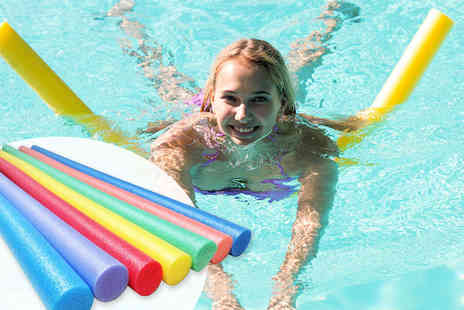 Sashtime - Two swimming pool noodles choose from six colours - Save 59%