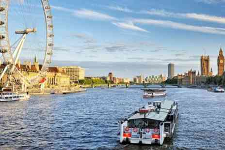 City Cruises PLC - Three Day Hop on, Hop off Thames River Cruise Ticket - Save 50%