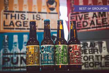 Brewdog All Deals - Craft Beer Tasting with Five Beers and a Cheese and Meat Platter for Two - Save 50%
