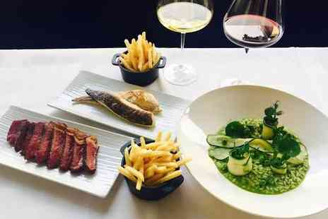 RESTAURANT MICHAEL NADRA - AA Rosette Steak Meal and Wine - Save 0%