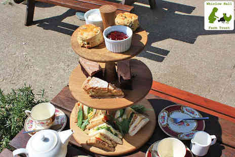 Whirlow Hall Farm Trust - Delicious afternoon tea for two people - Save 0%