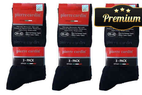The Beauty Retreat - 6, 9 or 15 Pairs of Pierre Cardin Socks - Save 87%
