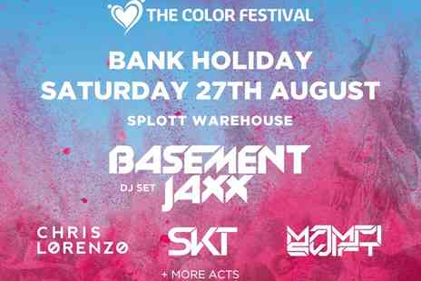 The Color Festival - The Color Festival on 28 August - Save 61%