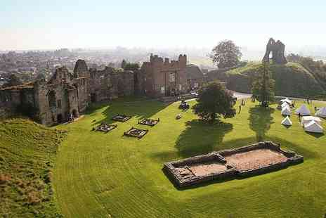 Tutbury Castle - Entry to Wonderland Weekend for Two or Four - Save 60%