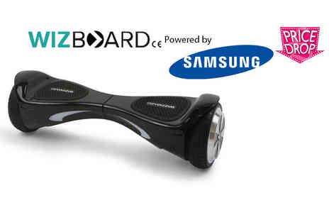 Davis and Dann - Official WizBoard hoverboard powered by Samsung choose from four colours - Save 61%