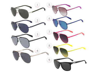 Fashion Eyewear - Pair of Calvin Klein sunglasses choose from 18 uber chic styles and save - Save 63%