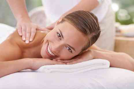 GeGe Beauty - 30 Minute Back, Neck and Shoulder or 60 Minute Full Body Massage - Save 47%