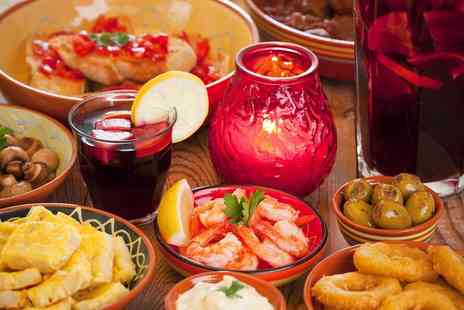 Torres Tapas - Six tapas dishes with sangria for two people or  twelve dishes with sangria for four - Save 56%