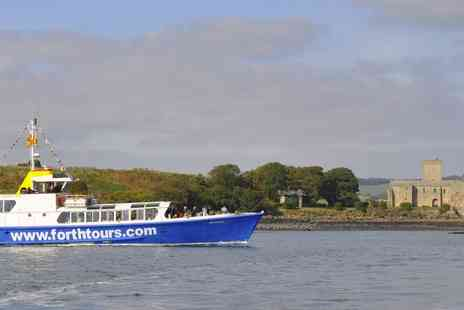 Forth Boat Tours - 90 minute Forth Bridge sightseeing cruise for two people - Save 50%