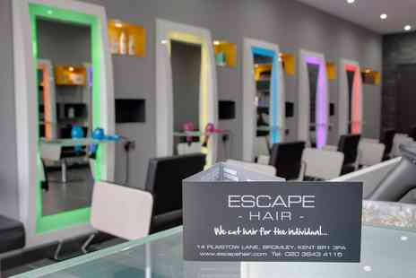 Escape Hair Bromley - Full Head Conditioning Quasi Colour With Cut & Blowdry - Save 24%
