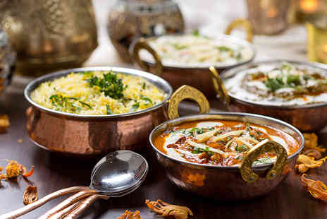 India Spice - Up to £130 voucher to spend towards dining for up to 12 people - Save 85%